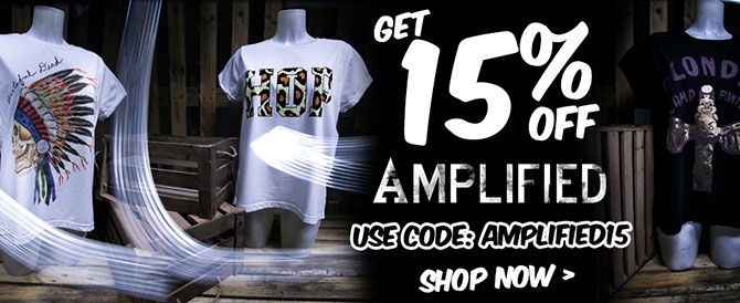 Get 15% off Amplified. Use Code: AMPLIFIED15