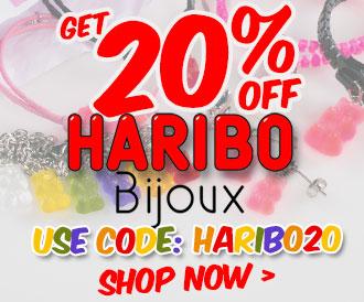Get 20% off Haribo Bijoux. Use Code: HARIBO20