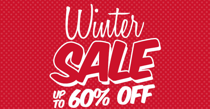 Winter Sale - Up to % off