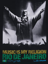 Men's Music Is My Religion DJ Cristo T-Shirt