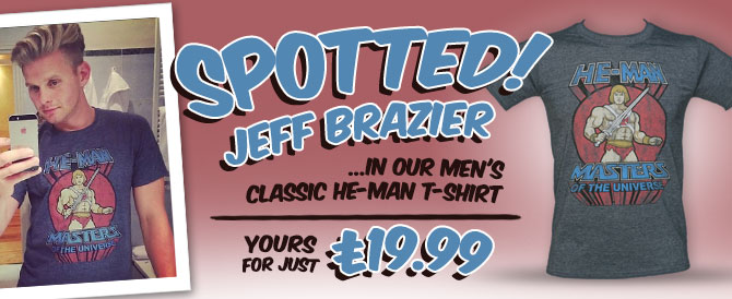 SPOTTED: Jeff Brazier