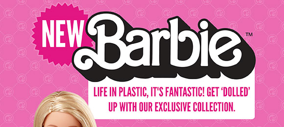NEW! Barbie x TruffleShuffle.com