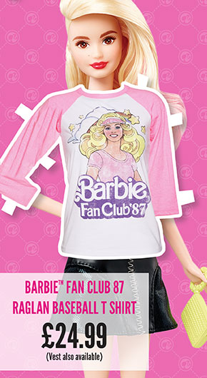 Barbie Fan Club 87 Raglan Baseball T-Shirt - £24.99