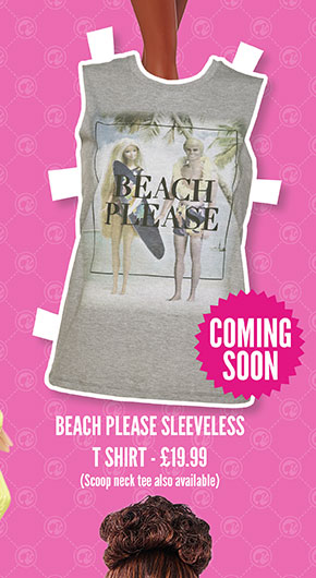 Beach Please Sleveless T-Shirt - £19.99