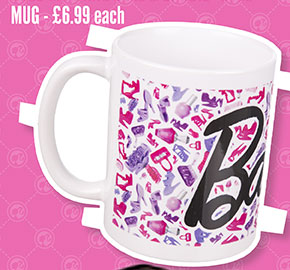 Barbie Logo Mug - £6.99