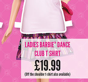Ladies Barbie Dance Club T-Shirt - £19.99
