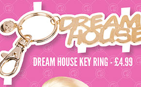 Barbie Dream House Key Ring - £4.99