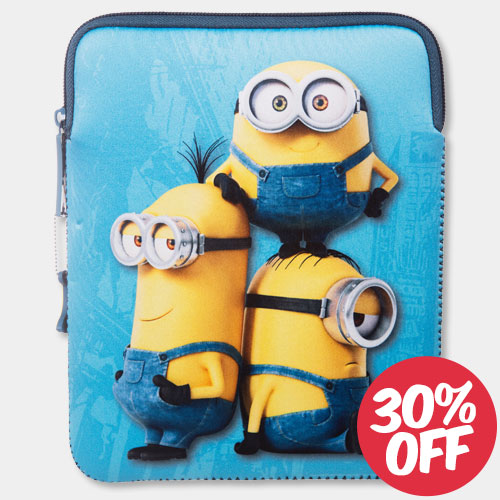 Minions 8 inch IPad Mini Neoprene Case