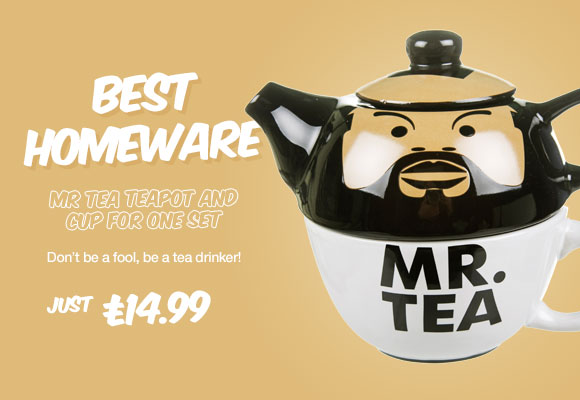 Mr Tea Teapot And Cup For One Set - £14.99