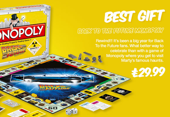 Back To The Future Monopoly Game Set - £29.99