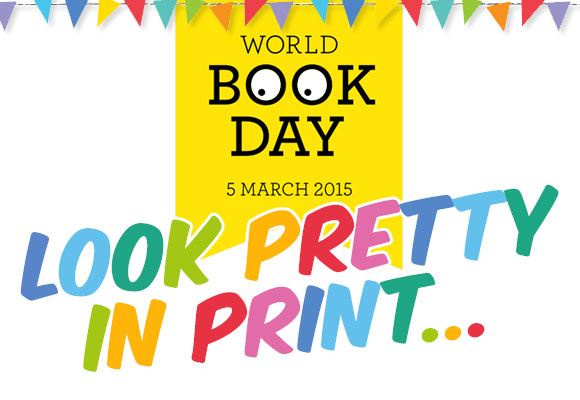 World Book Day - Look Pretty in Print...