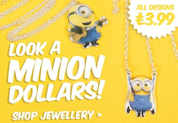 Minion Jewellery - Shop Now