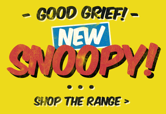 Good Grief! New Snoopy - Shop The Range