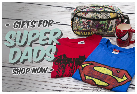 Super Dads - Superhero Gifts - Shop Now