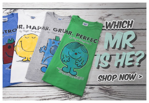 Which Mr is he? - Mr Men Related Gifts - Shop Now