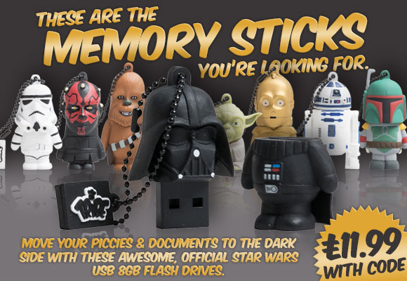 These are the memory sticks you're looking for...
