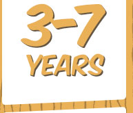 3-7 Years