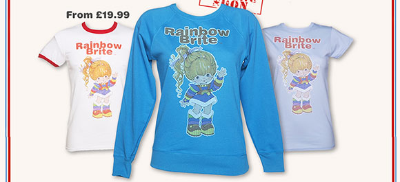 Vintage Rainbow Brite T-Shirt, Ringer T-Shirt and Sweater from TruffleShuffle £19.99