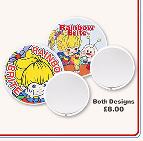 Rainbow Brite Pocket Mirrors from TruffleShuffle Both Designs £8.00