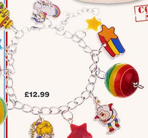 Rainbow Brite Charm Bracelet from TruffleShuffle £12.99
