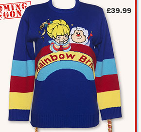 Ladies Rainbow Brite Knitted Jumper from TruffleShuffle £39.99
