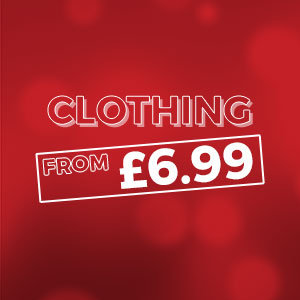 CLOTHING - From £4.99