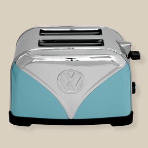 Blue Volkswagen Campervan Toaster