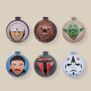 Star Wars Empire Strikes Back Bauble Set