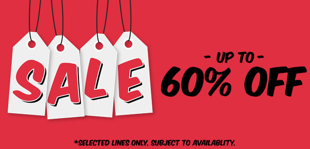 Sale - Up to 60% off