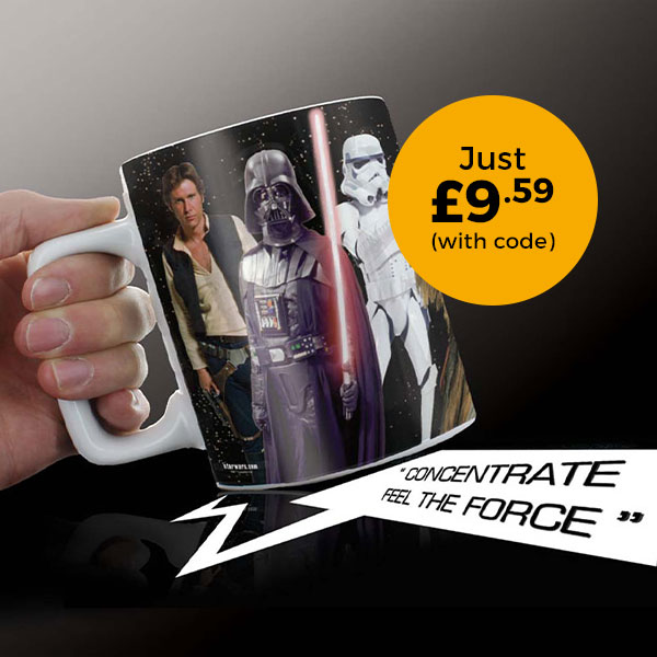 Star Wars Mug With Sounds £9.59 (with code)
