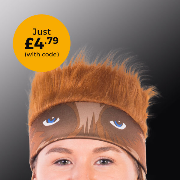 Star Wars Chewbacca Fur Headband £4.79 (with code)