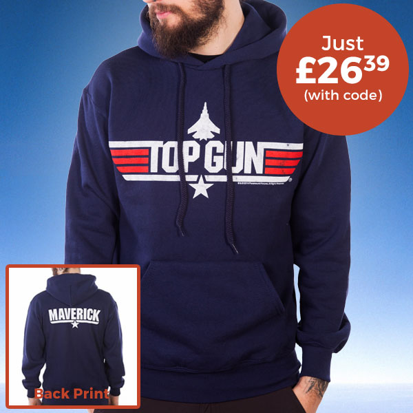 Men's Navy Top Gun Maverick Hoodie £26.39 (WITH CODE)