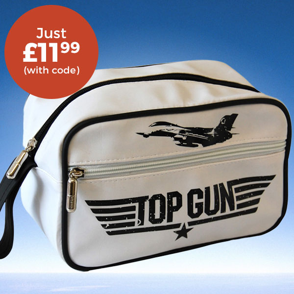 Top Gun Feel The Need For Speed Wash Bag £11.99 (WITH CODE)