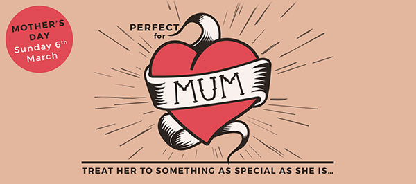 PERFECT FOR MUM - Treat her to something as special as she is...