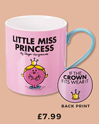 Boxed Little Miss Princess Mug from Wild & Wolf £7.99