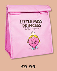 Little Miss Princess Insulated Lunch Bag from Wild & Wolf £9.99