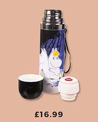 Moomins Cave Thermal Flask from Disaster Designs £16.99