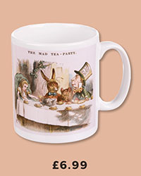 Boxed Alice In Wonderland Mad Tea Party Mug £6.99