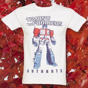 Men's Transformers Autobots Optimus Prime T-Shirt