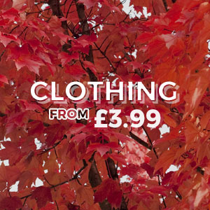 Clothing - From £3.99