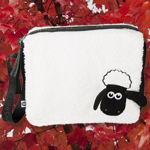 Furry Shaun The Sheep Messenger Bag