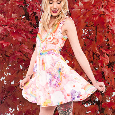 Women's Care Bears Clouds Of Caring Dress