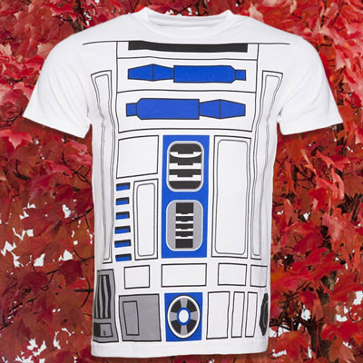 Men's Star Wars R2-D2 Costume T-Shirt