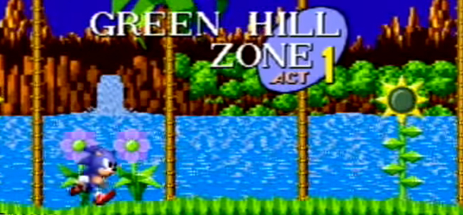 Sonic the Hedgehog - Green Hill Zone Act 1